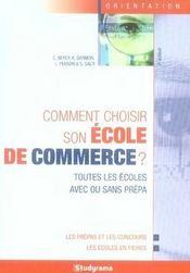 Comment choisir son école de commerce ? (7e édition) - Intérieur - Format classique