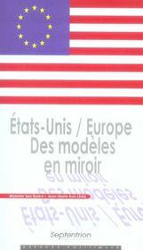 Etats-Unis / Europe. Des Modeles En Miroir - Intérieur - Format classique