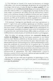 Oxydation Des Aliments Et La Sante - 4ème de couverture - Format classique