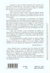 Quatre Annees Sans Relache - 4ème de couverture - Format classique