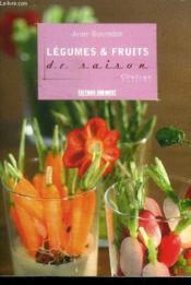 Légumes et fruits de saison - Couverture - Format classique