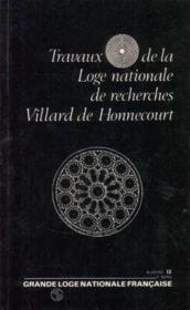 N.18 Travaux De La Loge - Couverture - Format classique