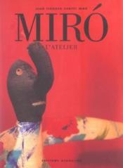Miro L Atelier - Couverture - Format classique