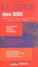 Le guide des ssii - Intérieur - Format classique