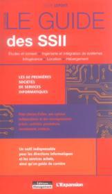 Le guide des ssii - Couverture - Format classique