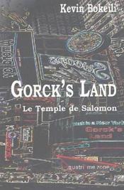 Le temple de Salomon ; gorck's land - Couverture - Format classique