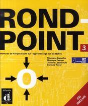 Rond point niveau 3 ; livre élève - Intérieur - Format classique