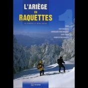 L'Ariège en raquettes - Couverture - Format classique