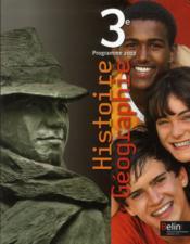 Histoire-géographie ; 3ème ; manuel de l'élève - Couverture - Format classique