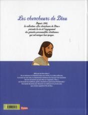 Les Chercheurs De Dieu T.21 ; Jésus En Bande Dessinée - 4ème de couverture - Format classique