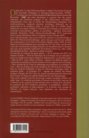 Electroconvulsivotherapie (l') - 4ème de couverture - Format classique