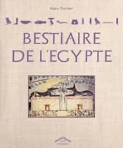 Bestiaire égyptien - Couverture - Format classique