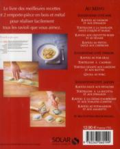 Ravioli ; coffret - 4ème de couverture - Format classique