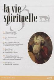 Vie Spirituelle Vs801 - Couverture - Format classique