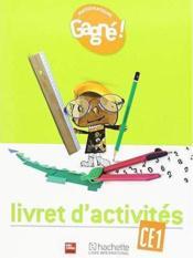 Gagne ! Mathematiques Ce1 Livret D'Activites - Rci - Couverture - Format classique
