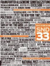 The Best Of News Design 33 /Anglais - Couverture - Format classique