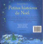 Petites histoires de Noël - 4ème de couverture - Format classique