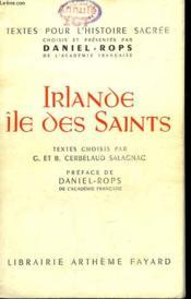 Irlande Ile Des Saints. - Couverture - Format classique