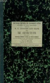 CATO MAJOR sive DE SENECTUTE DIALOGUS. NOUVELLE EDITION D'APRE LE TEXTE D'ORELLI - Couverture - Format classique