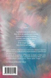Zéphyr - 4ème de couverture - Format classique