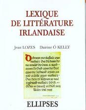Lexique De Litterature Irlandaise - Intérieur - Format classique