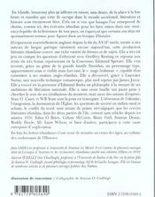 Lexique De Litterature Irlandaise - 4ème de couverture - Format classique