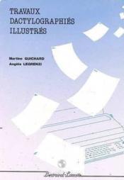 Travaux Dactylographique Illustres Bep 2 Cas/acc - Couverture - Format classique