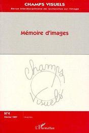 Mémoire d'images - Couverture - Format classique