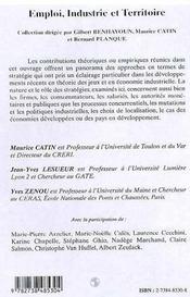 Strategies, Concurrence Et Mutations Industrielles - 4ème de couverture - Format classique