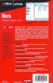Nero - 4ème de couverture - Format classique