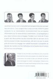La synergologie ; comprendre son interlocuteur à travers la gestuelle (édition 2004) - 4ème de couverture - Format classique