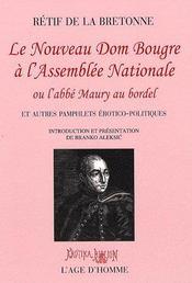 Nouveau Dom Bougre à l'assemblée nationale - Intérieur - Format classique