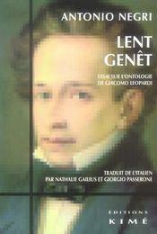 Lent Genet - Intérieur - Format classique