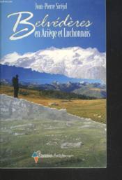 Belvédères en Ariège et Luchonnais - Couverture - Format classique