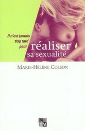 Realiser Sa Sexualite - Intérieur - Format classique