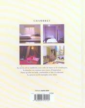 Chambres - 4ème de couverture - Format classique