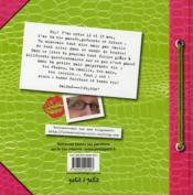Le livre de ma vie - 4ème de couverture - Format classique