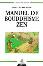 Manuel De Bouddhisme Zen - Couverture - Format classique