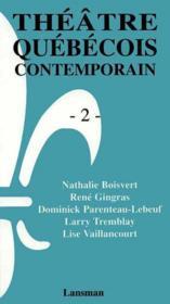 Coffret Theatre Quebecois Contemporain -2 - Couverture - Format classique