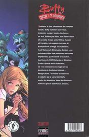 Buffy contre les vampires t.1 - 4ème de couverture - Format classique