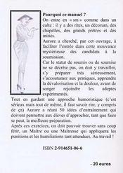 Manuel d'autopunition - 4ème de couverture - Format classique