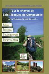 Sur le chemin de Saint-Jacques-de-Compostelle ; la via Tolosana, voie du soleil ; Arles, Toulouse, Col du Somport, Puente la Reina - Couverture - Format classique