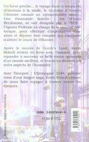 Timeport : chronogare 2044 - 4ème de couverture - Format classique