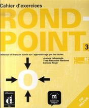 Vente livre :  Rond point n.3 ; cahier d'exercices+cd  - Flumian C