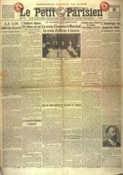 Petit Parisien Troisieme Edition (Le) N°15004 du 08/03/1918 - Couverture - Format classique