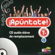 Apuntate ; Cd De Remplacement ; Terminale - Couverture - Format classique