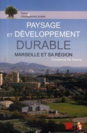 Paysage Et Developpement Durable - Couverture - Format classique