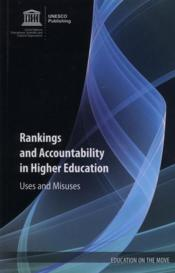 Vente livre :  Rankings and accountability in higher education ; uses and misuses  - Collectif