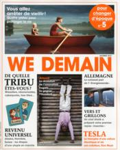 Vente livre :  WE DEMAIN N.5  - We Demain