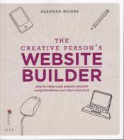 The Creative Person'S Website Builder /Anglais - Couverture - Format classique